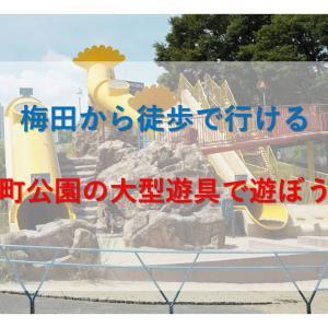 梅田から徒歩で行ける!扇町公園の大型遊具で遊ぼう