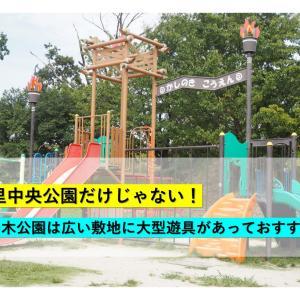 【大阪/千里中央】千里中央公園だけじゃない!樫の木公園は広い敷地に大型遊具があっておすすめ!
