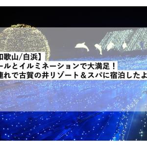 【和歌山/白浜】プールとイルミネーションで大満足!子連れで古賀の井リゾート&スパに宿泊したよ