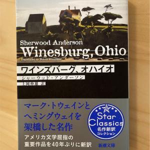『ワインズバーグ、オハイオ』シャーウッド・アンダーソン|ある街での人々のいとなみ