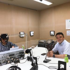地元のBeFMラジオ収録に行ってきました。