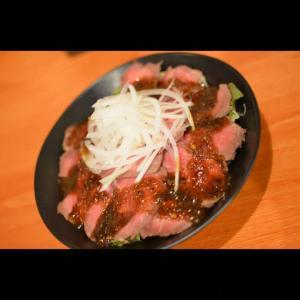 シビ辛ローストビーフ丼♪