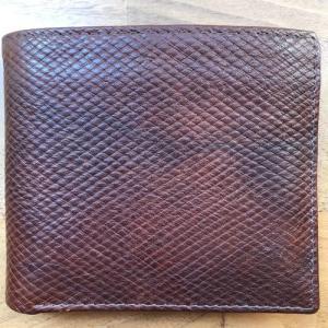 ジョージクレバリー、ロシアンカーフの革小物