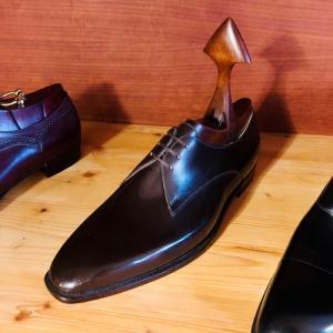 フライブルクのパトリック・フライで革靴をビスポーク②
