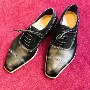 ジョージクレバリーのビスポークシューズ、ロンドンで2足目の仮縫い