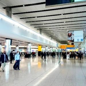 2020年12月中旬のヒースロー空港の様子