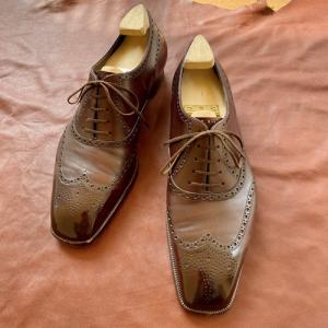 私の注文靴の原点。マーキスのビスポークシューズ