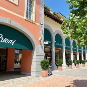 ミラノのセッラヴァッレ・デザイナー・アウトレットでブリオーニを追加