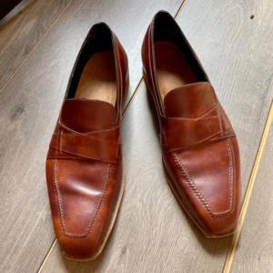 ペルティコーネで革靴をビスポーク【仮縫い編】