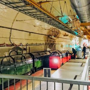 【ポスタル・ミュージアム】可愛い秘密の地下鉄メール・レイル