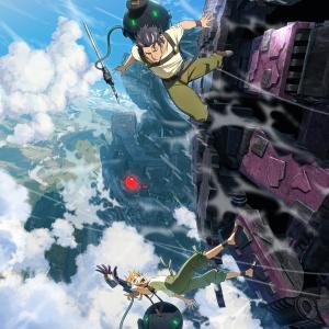 アニメ「デカダンス」。文明が荒廃した世界で、少女は…衝撃SFアクションアニメに注目。