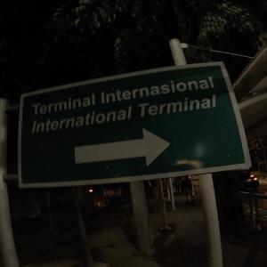 ホテルからグラブタクシーで空港。そして搭乗へ
