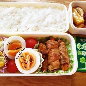 高校生のお弁当40日目★ゆで卵1日10個食べても良い説