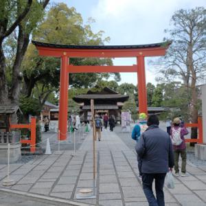 【京都】城南宮・しだれ梅