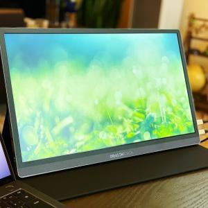 【Dragon Touch S1 Pro レビュー】USB-C&Mini HDMIポートを搭載し解像度4K15.6インチIPSパネルのモバイルモニター