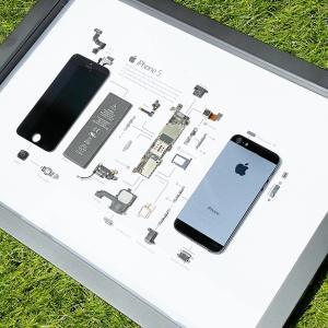 【Grid Studio GRID® 5 レビュー】古いiPhoneを分解してフレームに美しく収めたノスタルジーあふれるオシャレな現代アート