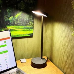 【Lolly デスクライト レビュー】洗練されたデザイン!4段階調光とUSB-A&Cポートからのデバイス充電に対応したスタイリッシュなデスクライト