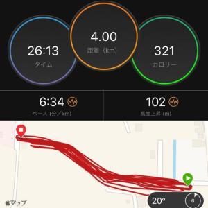 200m坂道ダッシュ 〜まぁ良しとしよう〜