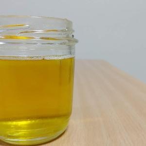 液体食器洗い洗剤/オリーブオイルで作った結果