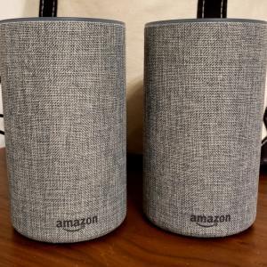 Amazon echo2台でステレオ再生~amazon musicは嵐の曲も充実しています