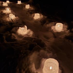 北海道の冬のお祭り 定山渓温泉 雪灯路行ってきました。