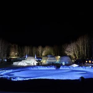 幻想的な氷の世界 アイスヴィレッジ 占冠 トマム
