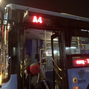 【バンコク】スワンナプーム空港、ドンムアン空港からカオサンへバスで行く方法