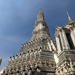 【バンコク】カオサンから船で暁の寺に行ってみた