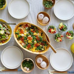 鮭ときゅうりと卵の混ぜ寿司レシピ