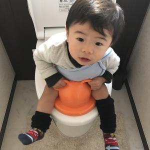 1歳でトイレトレーニング|いつから始める?そのタイミングは真似っこだった!?