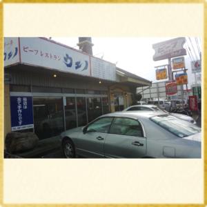 本店は超有名店のレストハウス..ウエノ