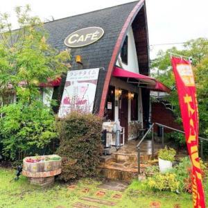 ログハウスの昔ながら喫茶店☕