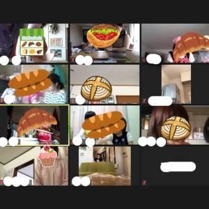 オンラインで子供とパン作り 開催しました♪