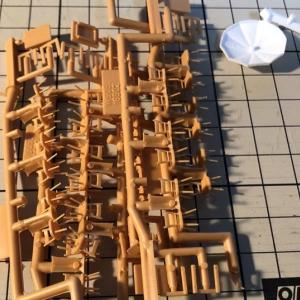Ostレイアウト製作33 酒場の家具作り1