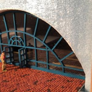 Ostレイアウト製作 31  ドア部分の加工