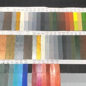 ターナーアイアンペイント、ファレホ各種 色見本