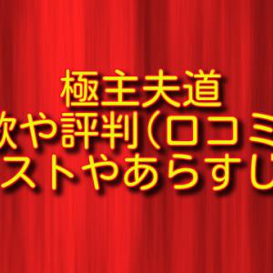 ドラマ極主夫道の主題歌&評判(口コミ)は?キャスト&あらすじも!