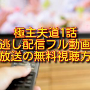 ドラマ極主夫道1話の見逃し配信フル動画&再放送の無料視聴方法
