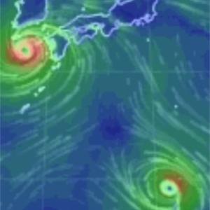 台風…すげーのきてます。