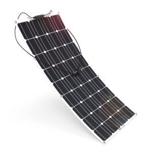 ソーラーパネル 100W ALLPOWERS ソーラーチャージャー 18V 12V 単結晶 曲げ可能 MC4コネクターケーブル付き 太陽光発電 防水 防振 防塵 RV ボート キャビン テント等に対応 ソーラー充電器
