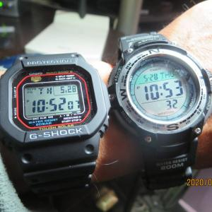 腕時計を買いなおす(カシオGショックGW-M5610)