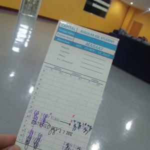 フィリピン留学@SMEAG Day16 丑三つ時の来訪者。からの、何回レッスンをサボると退学処分か計算してみた。