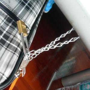 台北経由バンコク10日FIXギリギリ滞在一人旅 Day3 荷物管理は自己責任。キーチェーンでベッドにロックが王道。からの食い逃げ疑惑とリアルザラキの恐怖