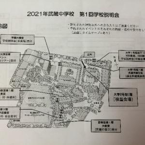 【武蔵中学】学校説明会と校内ツアーに参加