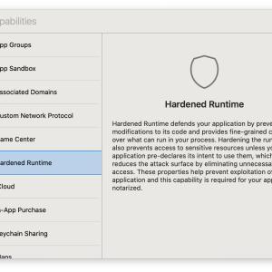 Apple Notarization Service に対応するためのXcodeの設定