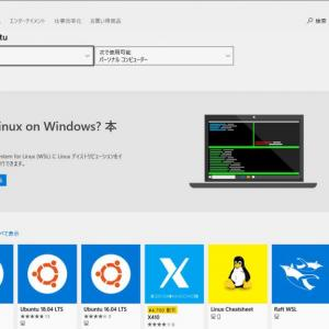 WSL (Windows Subsystem for Linux) をセットアップ方法