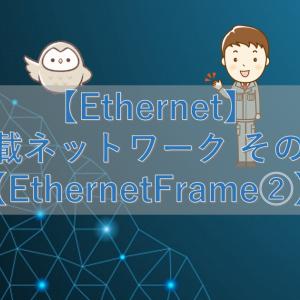 【Ethernet】車載ネットワーク その14【EthernetFrame②】