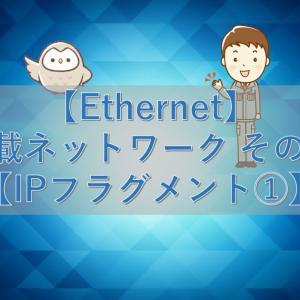 【Ethernet】車載ネットワーク その18【IPフラグメント①】
