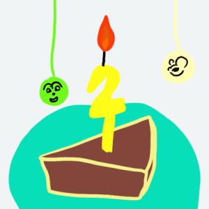 陽月2歳の誕生日