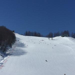 今期最後のスキー